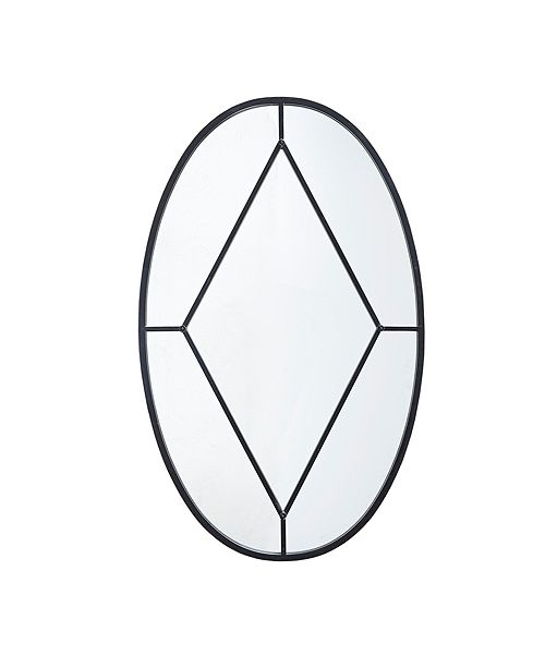 Martha Stewart Collection Martha Stewart Cantitoe Oval Accent Mirror