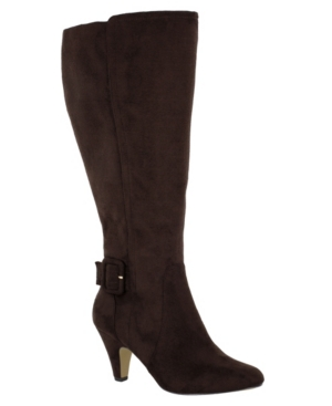 Troy Ii Wide Calf Tall Dress Boots Women's Shoes