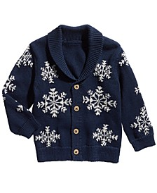 Baby Boys Snowflake Cardigan, Created For Macy's