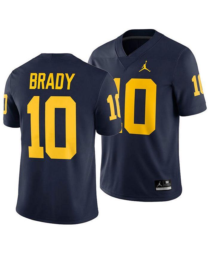Nike Men's Tom Brady Michigan Wolverines Player Game Jersey ...