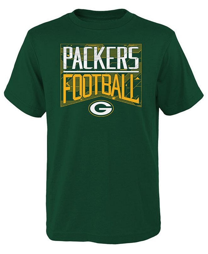 Outerstuff Big Boys Green Bay Packers Energy T-Shirt