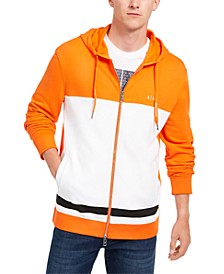 Men's Colorblock Full-Zip Hoodie, Created For Macy's