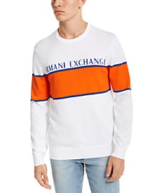 Men's Colorblocked Striped Sweater, Created For Macy's