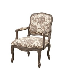 Monroe Camel Back Arm Chair