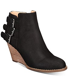 Ginalee Wedge Booties