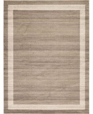 Lyon Lyo5 Light Brown 9' x 12' Area Rug