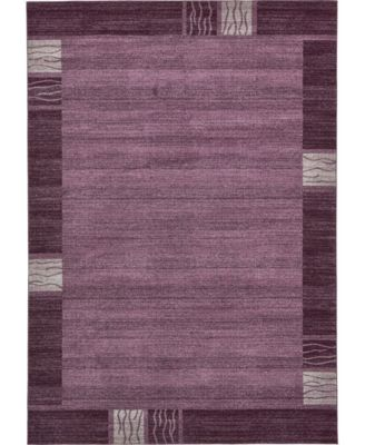 Lyon Lyo1 Purple 10' x 13' Area Rug