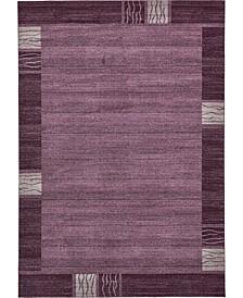 Lyon Lyo1 Purple Area Rug Collection