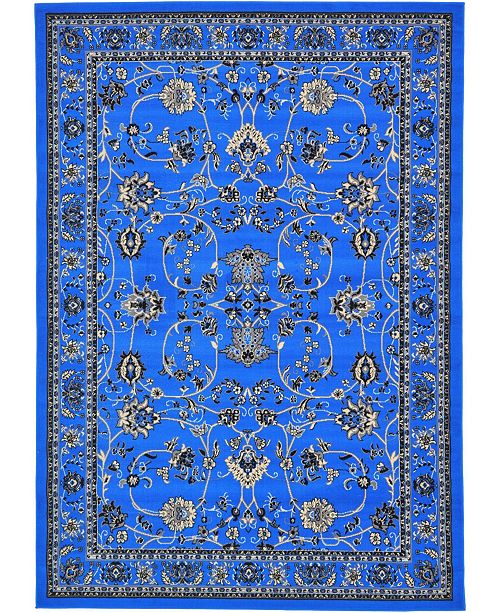 Bridgeport Home Arnav Arn1 Blue Area Rug Collection