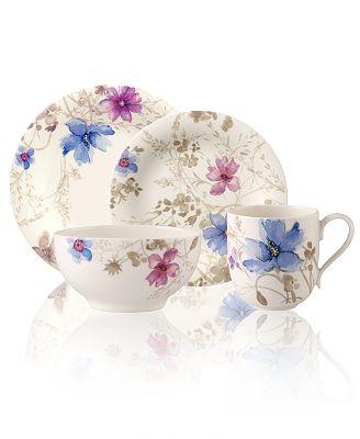 Villeroy Und Boch Mariefleur villeroy boch dinnerware mariefleur gris collection dinnerware