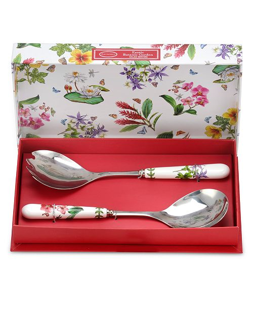 Portmeirion Serveware, Set of 2 Botanic Garden Exotic Servers