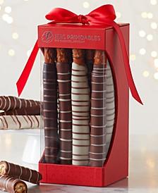 9-Pc. Chocolate & Caramel Dipped Pretzels
