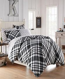 Poppys Plaid Twin Comforter Set