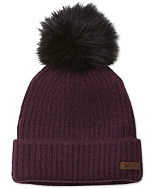 Women's Winter Blur Pom Pom Beanie