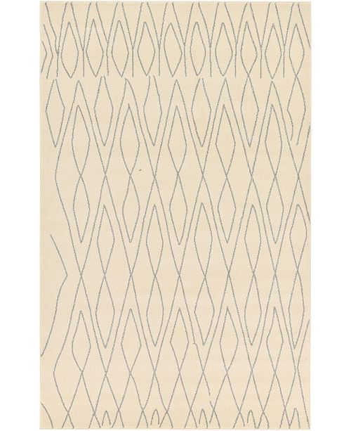 Bridgeport Home Fio Fio1 Ivory Area Rug Collection