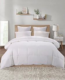 600 Fill Power 75% White Goose Down Winter Comforter, Size- Queen/Full