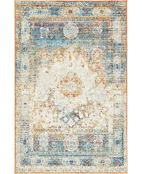 Bridgeport Home Mishti Mis4 Beige Area Rug Collection
