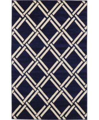 Arbor Arb4 Navy Blue 9' x 12' Area Rug