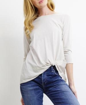 1804 Womens Jersey Twist 3/4 Sleeve T-Shirt