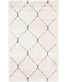Fazil Shag Faz5 Ivory Area Rug Collection