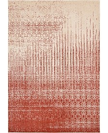 Lyon Lyo2 Red Area Rug Collection
