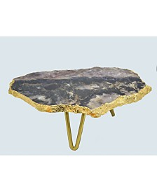 Nature's Decorations - Natural Amethyst Cake Stand