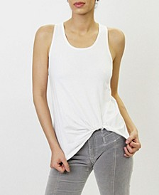 Womens Twist Tank Top