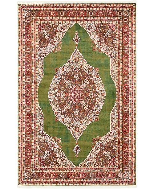Bridgeport Home Kenna Ken1 Green Area Rug Collection