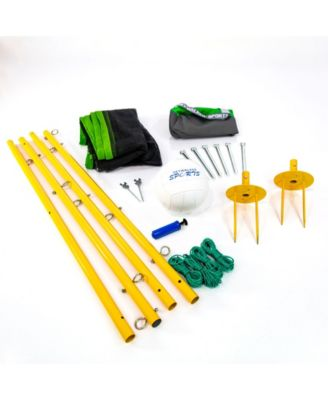 Skywalker Sports Volleyball Kit Including Carry Bag, Volleyball and Staked Poles