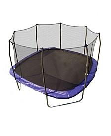 13' Square Trampoline with Enclosure