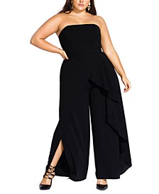 Trendy Plus Size Attraction Jumpsuit