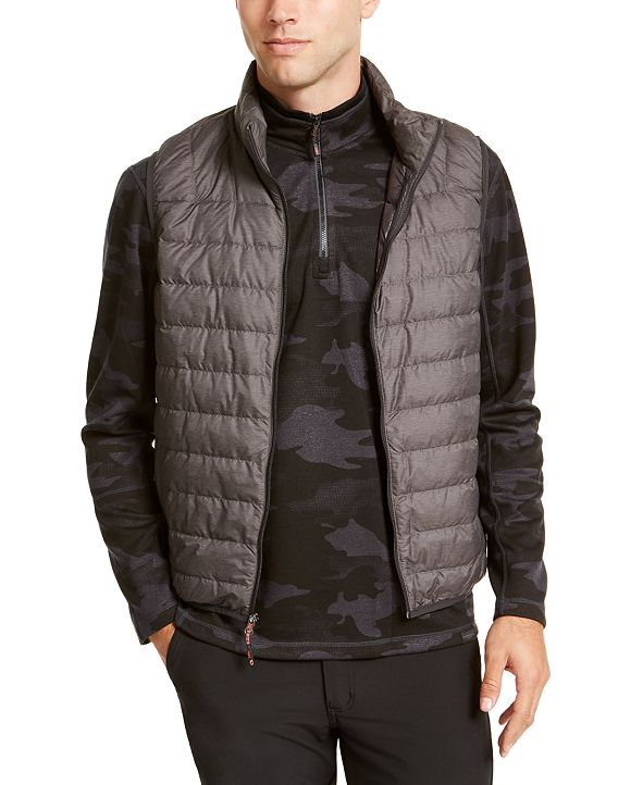 Hawke & Co. Outfitter Men's Packable Down Blend Puffer Vest