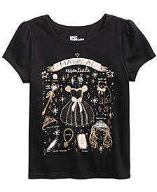 Little Girls Magical Essentials-Print T-Shirt, Created For Macy's