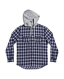 Men's Snap Up Flannel Shirt