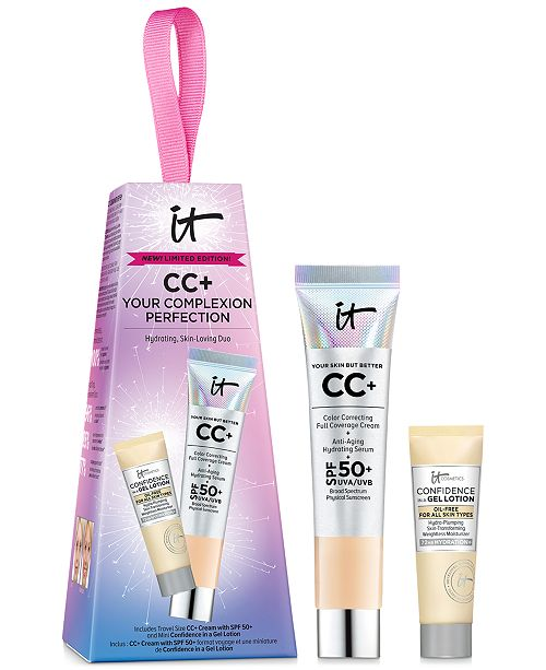 IT Cosmetics 2-Pc. CC+ Your Complexion Perfection Hydrating, Skin-Loving Set
