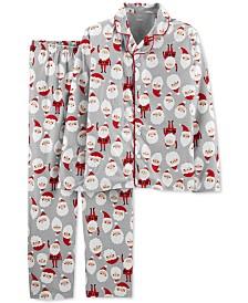 Carter's 2-Pc. Adult Unisex Family Pajamas, Santa Claus