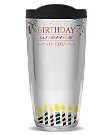 Sign-It Birthday Fem Double Wall Insulated Tumbler, 16 oz
