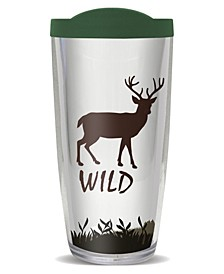 Buck Wild Double Wall Insulated Tumbler, 16 oz