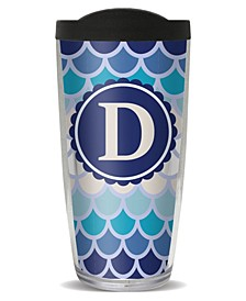 Scallop Pattern - D Double Wall Insulated Tumbler, 16 oz