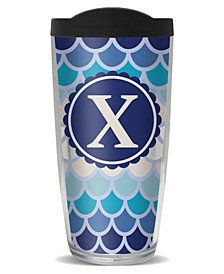 Scallop Pattern - X Double Wall Insulated Tumbler, 16 oz