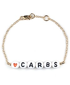 Carbs 18k Gold Plated Bracelet Treat Pack