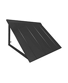 "4' Houstonian Metal Standing Seam Awning, 56"" W 24"" H x 24"" D"