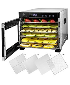 Secco Pro Food Dehydrator with 6 Drying Racks