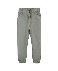 Baby Boy's Twill Joggers Pant