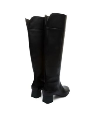 Camper Katie Womens Black Leather Knee High Boots