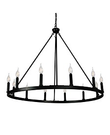 Canyon Home 12 Light Chandelier