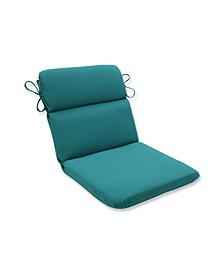 Fortress Colefax Aquamarine Rounded Corners Chair Cushion