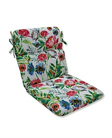 Flower Mania Petunia Rounded Corners Chair Cushion