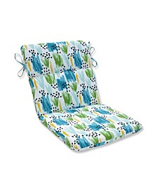 Flicker Seaglass Rounded Corners Chair Cushion