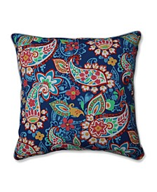 """Paisley Party 25"""" Outdoor Floor Pillow"""